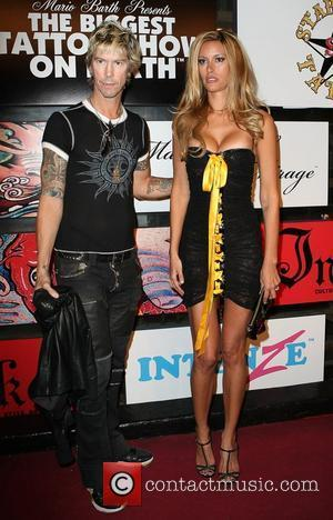 Duff McKagan and Susan Holmes Mario Barth Presents 'The Biggest Tattoo Show On Earth' Kick Off Party held at Rumjungle...