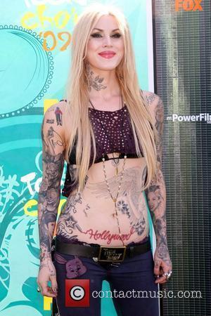 Kat Von D Teen Choice Awards 2009 held at the Gibson Amphitheatre - Arrivals  Los Angeles, California, USA -...