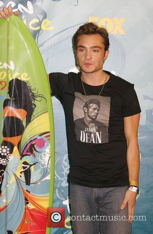 Ed Westwick Teen Choice Awards 2009 held at the Gibson Amphitheatre - Press Room Los Angeles, California, USA - 09.08.09