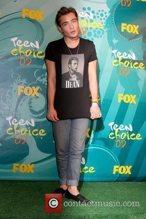 Ed Westwick  Teen Choice Awards 2009 held at the Gibson Amphitheatre - Press Room Los Angeles, California, USA -...