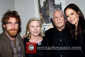 Dustin Yellin, Allison Sarofim and Debbie Harry