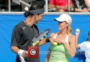 Gavin Rossdale and Chris Evert