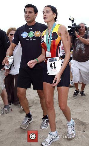 Teri Hatcher competes in The 2009 Nautica Malibu Triathlon  Los Angeles, California - 13.09.09