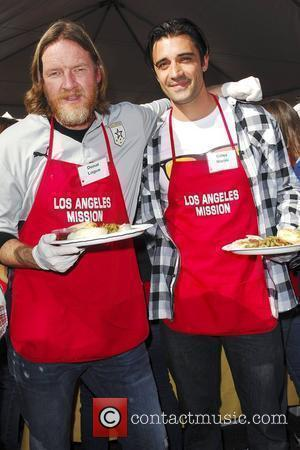 Donal Logue and Gilles Marini '5th Annual Thanksgiving Meal for the Homeless' held at the Los Angeles Mission Los Angeles,...