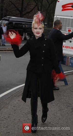 Cyndi Lauper The 83rd Annual Macy's Thanksgiving Parade New York City, USA - 26.11.09