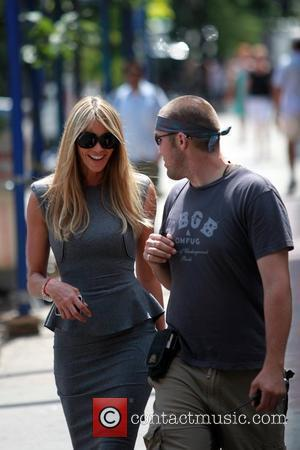 Elle Macpherson on the set of 'The Beautiful Life' filming in Manhattan. New York City, USA - 11.08.09