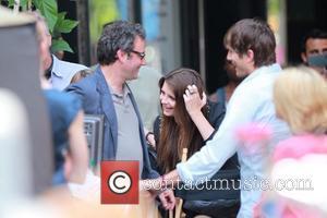 Mischa Barton and Ashton Kutcher