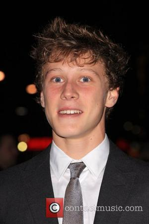 George Mackay The Times BFI London Film Festival: The Boys Are Back - gala screening held at the Vue West...