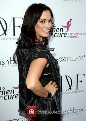 Jessica Sutta Fashion show for Susan G. Komen for the Cure in aid of breast cancer Los Angeles, California -...