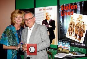 Rula Lenska and Jan Kusmirek attend the book launch of 'The Engineer' at Ognisko Polish Club London, England - 16.09.09