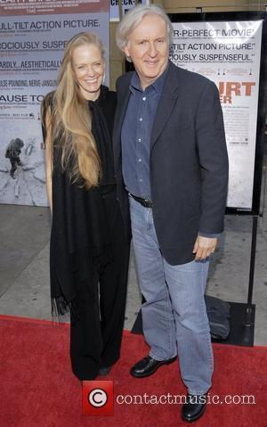 James Cameron and wife Suzy Amis 'The Hurt Locker' premiere held at the Egyptian Theater - Arrivals Los Angeles, California...