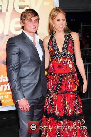 Billy Magnussen, Cody Horn  New York Premiere of 'The Informant' shown at the Ziegfield theater New York City, USA...