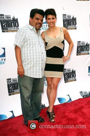 Luis guzman and Liz Gardner New York international latino film festival screening of 'the line'  held at school of...