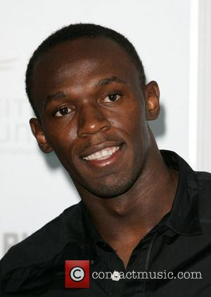 Usain Bolt  promoting The Long Run Conservation project at The Design Museum London, England - 29.10.09