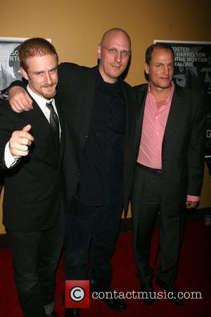 Ben Foster, Oren Moverman and Woody Harrelson