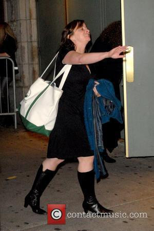 Rachel Dratch outside American Airlines Theatre for the 9th Annual 24 Hour Plays New York City, USA - 09.11.09