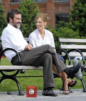 Jeffrey Dean Morgan and Hilary Swank