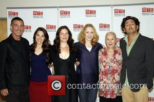 John Glover, Kelli Barrett, Ana Gasteyer, Jan Maxwell, Rosemary Harris and Reg Rogers Press Day for the upcoming Broadway play...