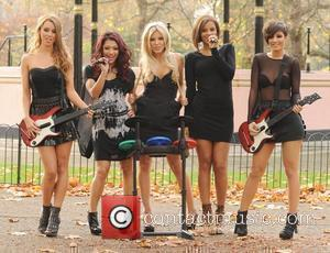 Una Healy, Vanessa White, Mollie King, Rochelle Wiseman and Frankie Sandford