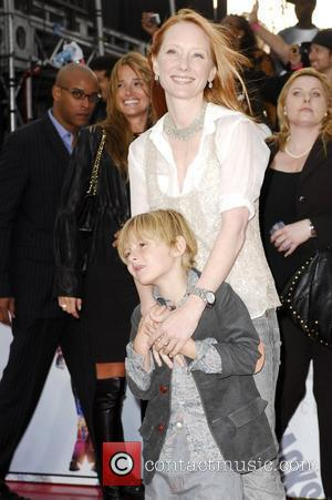 Anne Heche and her son Homer Michael Jackson's 'This Is It' Premiere at the Nokia Theatre - Arrivals Los Angeles,...