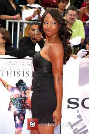 Monique Coleman Michael Jackson's 'This Is It' Premiere at the Nokia Theatre - Arrivals Los Angeles, Cailfornia - 27.10.09
