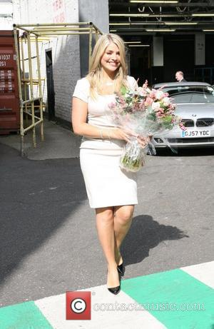 Holly Willoughby leaving 'This Morning' studios London, England - 14.09.09