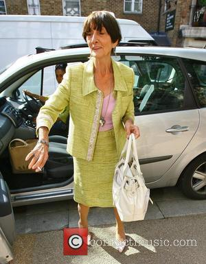 June Brown outside the 'This Morning' studios London, England - 16.07.09