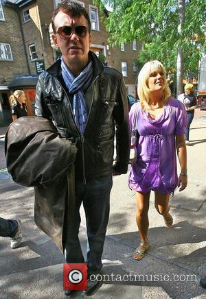 Shane Richie and Christie Goddard outside the 'This Morning' studios London, England - 16.07.09
