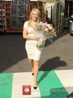 Holly Willoughby  leaving 'This Morning' studios after presenting the show for the first time London, England - 14.09.09