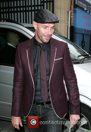 Jason Gardiner leaving the London studios after appearing on 'This Morning' London, England - 07.10.09