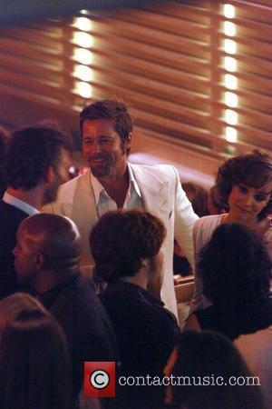 Brad Pitt, Eric Bana and Rachel McAdams