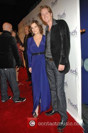 Marcia Gay Harden and Thaddaeus Scheel Tisch School of the Arts Gala at the Lincoln Center in the Time Warner...