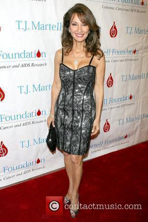 Susan Lucci 34th Annual T.J. Martell Foundation's Awards Gala at the Hilton Hotel - Arrivals New York City, USA -...