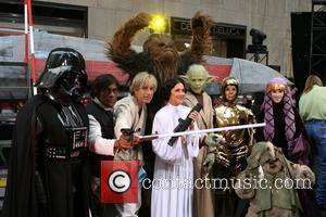 Ann Curry, Al Roker, Matt Lauer, Meredith Vieira and Star Wars