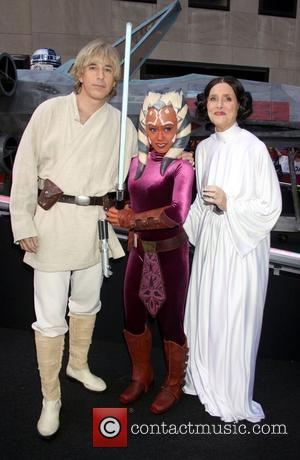 Matt Lauer, Meredith Vieira and Star Wars