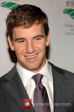 Eli Manning The fifth annual Tom Coughlin Jay Fund Foundation fundraising event held at Cipriani 42nd Street New York City,...