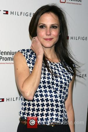 Mary-Louise Parker Fifth Avenue Global Flagship Opening celebration at Tommy Hilfiger Fifth Avenue - arrivals New York City, USA -...