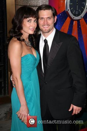 Laura Benanti and Steven Pasquale The 63rd Tony Awards held at the Radio City Music Hall - Arrivals New York...