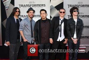 Linkin Park 2009 Los Angeles Film Festival - Premiere of 'Transformers: Revenge of the Fallen' held at Mann Village Theatre...