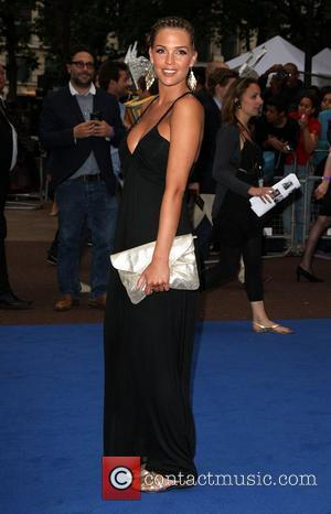 Danielle Lloyd and Odeon Leicester Square