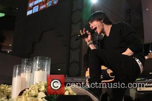 Mitchel Musso arrives at Hollywood & Highland Center and One Heartland's 'Holiday of Hope' tree lighting show Hollywood, California -...