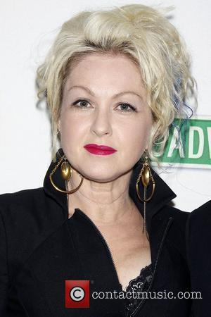 Cyndi Lauper Photocall for 'True Colors Cabaret' held at Feinstein's at the Loews Regency Hotel New York City, USA -...