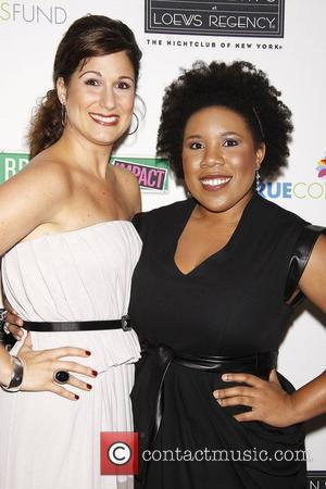 Stephanie J. Block and Melinda Doolittle Photocall for 'True Colors Cabaret' held at Feinstein's at the Loews Regency Hotel New...