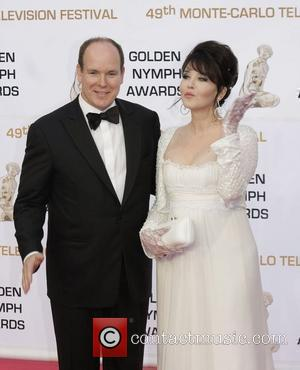 Isabelle Adjani and Prince Albert Of Monaco