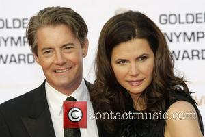 Kyle Maclachlan and His Wife