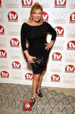 Claire King TV Quick & TV Choice Awards held at the Dorchester Hotel - Inside Arrivals London, England - 07.09.09