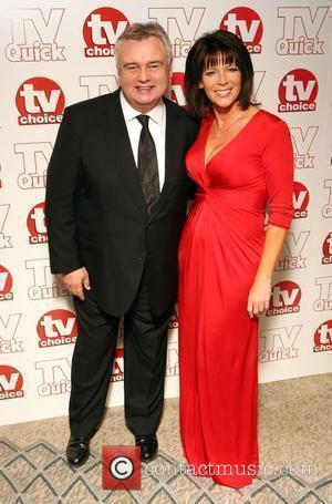 Eamonn Holmes and Ruth Langsford TV Quick & TV Choice Awards held at the Dorchester Hotel - Inside Arrivals London,...