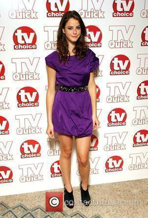 Kaya Scodelario TV Quick & TV Choice Awards held at the Dorchester Hotel - Inside Arrivals London, England - 07.09.09