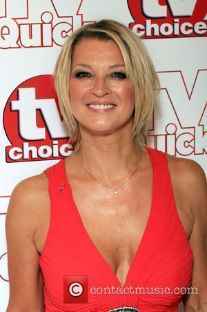Gillian Taylforth TV Quick & TV Choice Awards held at the Dorchester Hotel - Inside Arrivals London, England - 07.09.09