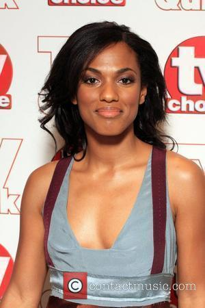 Freema Agyeman TV Quick & TV Choice Awards held at the Dorchester Hotel - Inside Arrivals London, England - 07.09.09